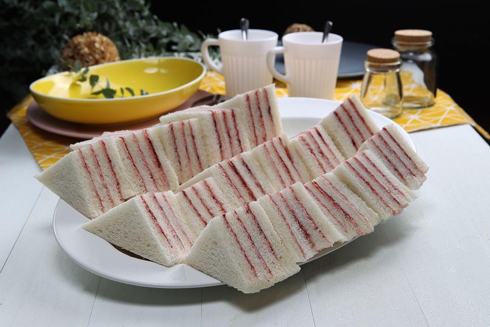 小三明治-果醬(蛋奶素)