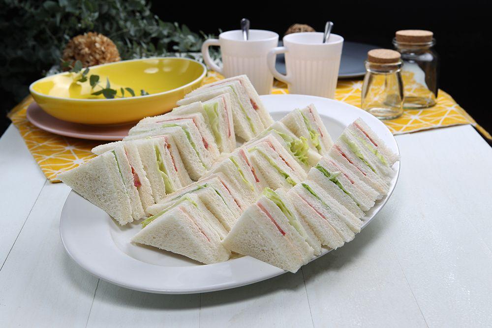 鮮奶三明治-蔬菜(蛋奶素)