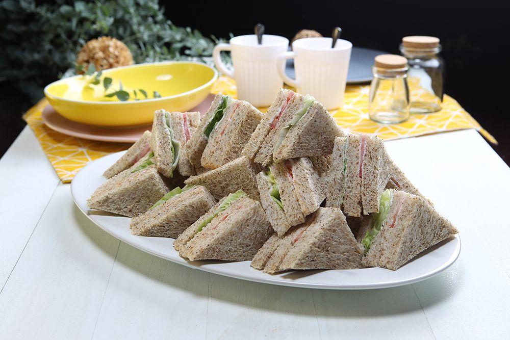 全麥三明治-蔬菜(奶素)