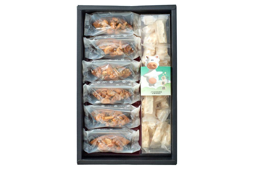 火山豆堅果塔6入/牛軋糖1盒入